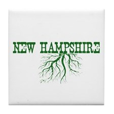 New Hampshire Roots Tile Coaster