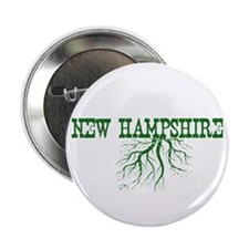 """New Hampshire Roots 2.25"""" Button"""