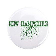 """New Hampshire Roots 3.5"""" Button (100 pack)"""