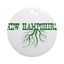 New Hampshire Roots Ornament (Round)