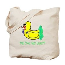 duckie luau Tote Bag