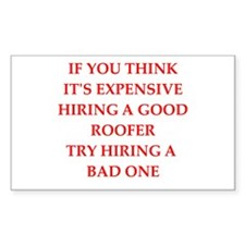 roofer Decal