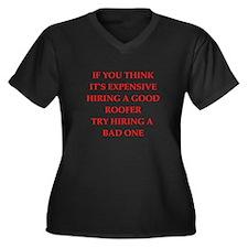 roofer Plus Size T-Shirt