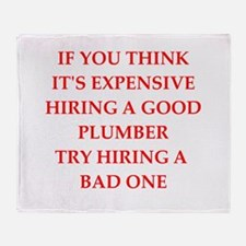 plumber Throw Blanket