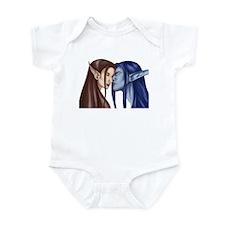 Elf Couple  Infant Bodysuit