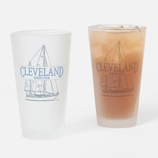 Cleveland sailing - Drinking Glass