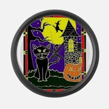 Witching Hour Large Wall Clock