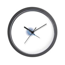 Cute Blue budgie Wall Clock