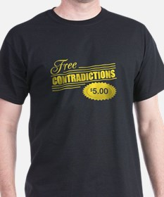 Free Contradictions $5.00 T-Shirt