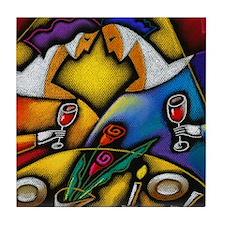 Tri-Cities Wine Festival Tile Coaster