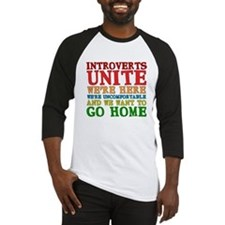 Introverts Unite Baseball Jersey