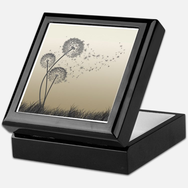 Cute Dandelion Keepsake Box