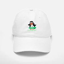 penguin luau Baseball Baseball Cap