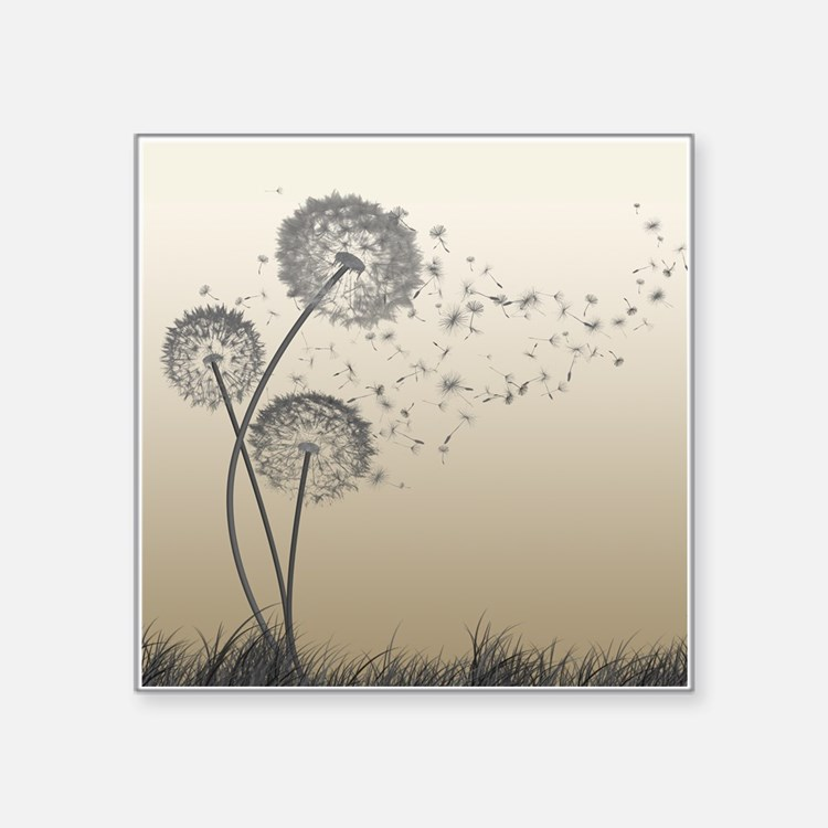 Dandelion Wishes Sticker