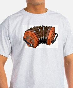 Beautiful Concertina Musical Instrument T-Shirt