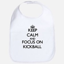 Cute Kickball Bib
