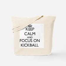 Unique Kickball Tote Bag