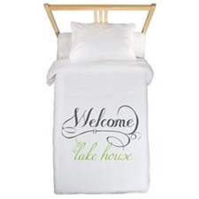 Welcome To The Lake House Twin Duvet