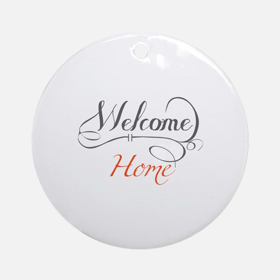 Welcome Home Ornament (Round)