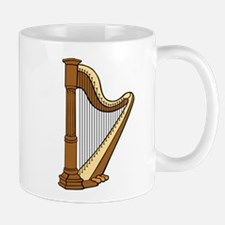 Harp Multi-String Musical Instrument Mugs