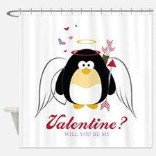 Valentine? Will You Be My Shower Curtain