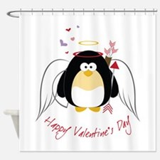 Happy Valentine's Day! Shower Curtain