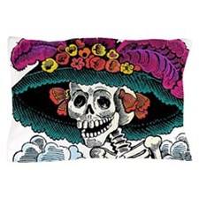La Catrina Pillow Case