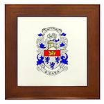 O'GARA Coat of Arms Framed Tile