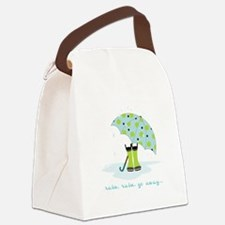 Rain Rain Go Away... Canvas Lunch Bag