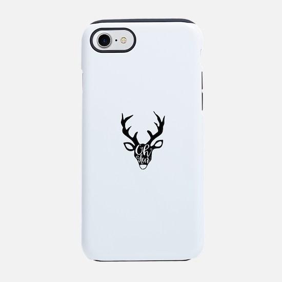 Oh deer iPhone 7 Tough Case