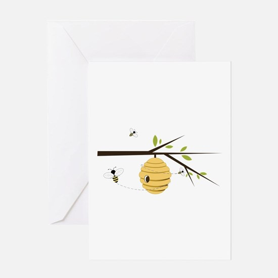 Beehive Greeting Cards