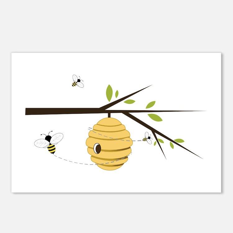 Beehive Postcards (Package of 8)