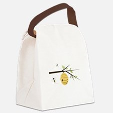 Beehive Canvas Lunch Bag