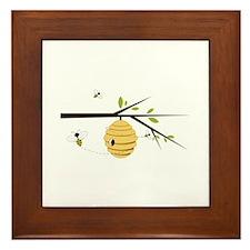 Beehive Framed Tile