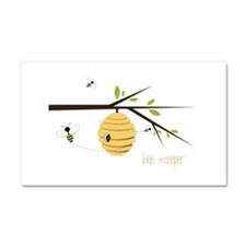 Bee Keeper Car Magnet 20 x 12