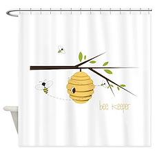 Bee Keeper Shower Curtain