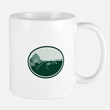 Avebury Stone Henge Circle Retro Mugs