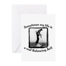 Balancing Act Greeting Cards (Pk of 10)