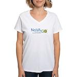 NoVAGO Women's V-Neck T-Shirt