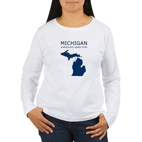 MI_high5 Long Sleeve T-Shirt