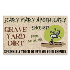 GRAVE YARD DIRT Decal