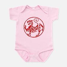 Shotokan Red Tiger Infant Bodysuit