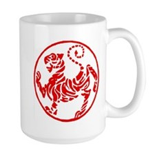 Shotokan Red Tiger Mug