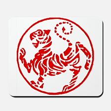 Shotokan Red Tiger Mousepad