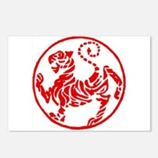 Shotokan Red Tiger Postcards (Package of 8)