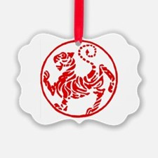Shotokan Red Tiger Ornament