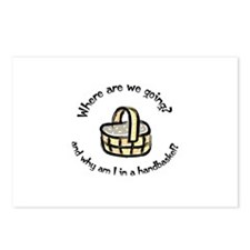 Handbasket Postcards (Package of 8)