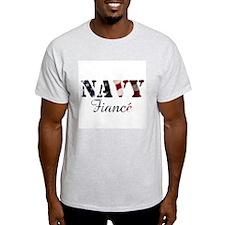 American Navy Fiance T-Shirt