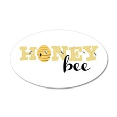 Honey Bee Wall Decal