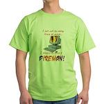 Fires At Work Green T-Shirt